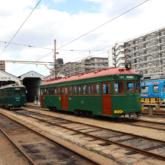 阪堺電車あびこ道車庫