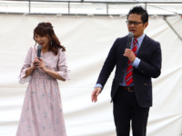 駅祭ティングに久野知美&南田裕介