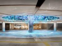 泉の広場「Water Tree」