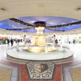 リニューアル前の泉の広場