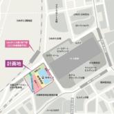 JR大阪駅周辺の配置図