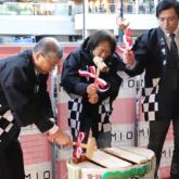 天王寺ミオでお正月イベント「蔵元豊祝 鏡開き&ふるまい酒」