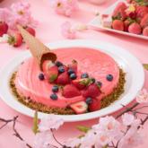 いちごのミラーケーキ