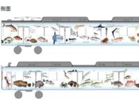 伊勢志摩の魚介類がテーマのラッピング車両「伊勢志摩お魚図鑑」 近畿日本悦道