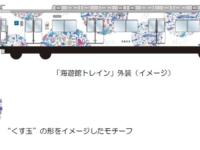 ラッピング列車「海遊館トレイン」