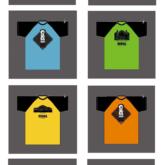 コシノジュンコさんプロデュースの「なないろチャリティTシャツ」