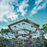 世界最大アスレチックタワー「万博BEAST」万博記念公園