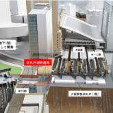 「うめきた (大阪 )地下駅」と「 大阪駅」