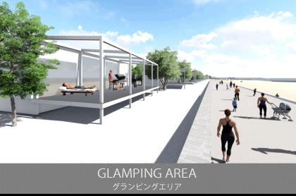 泉南りんくう公園「SENNAN LONG PARK」グランピングエリア
