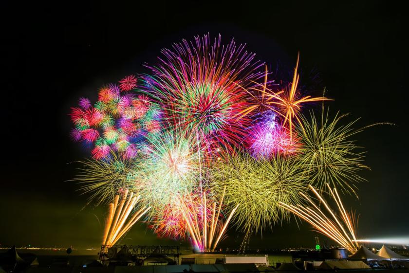 大阪泉州夏祭り「泉州 光と音の夢花火」