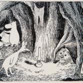 「ムーミン谷の彗星」挿絵