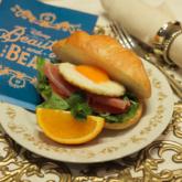 <Belle>朝のサンドウィッチプレート
