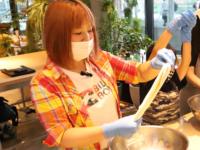 「Re-Life ON THE TABLE」でモッツァレラチーズ作り体験
