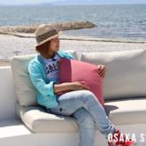 「アーバンキャンプホテル マーブルビーチ」のキャンプファイヤー