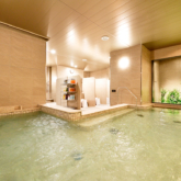 「ホテル エルシエント大阪」のサウナ付き大浴場