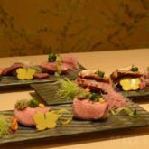 「きっしゃん 松 永楽町店 」の肉寿司