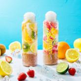「Lipton TEA STAND Fruits in Tea」のパフェ氷