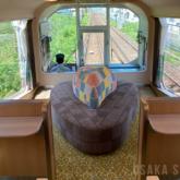 団体専用列車「楽」の「楽VISTAスポット」 近鉄
