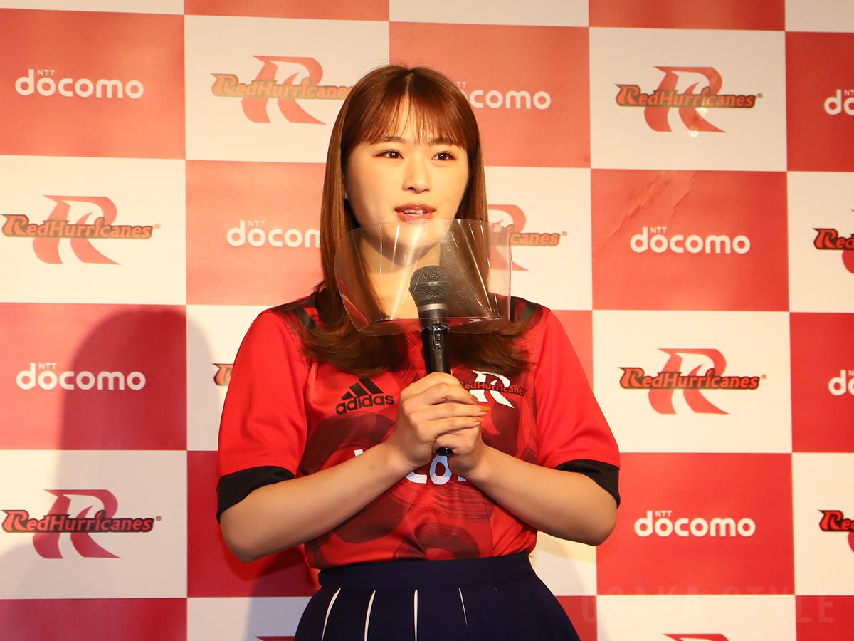 公式アンバサダーへの意気込みを語る渋谷凪咲さん