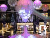 グランフロント大阪 メインクリスマスツリー「Winter Voyage Tree」