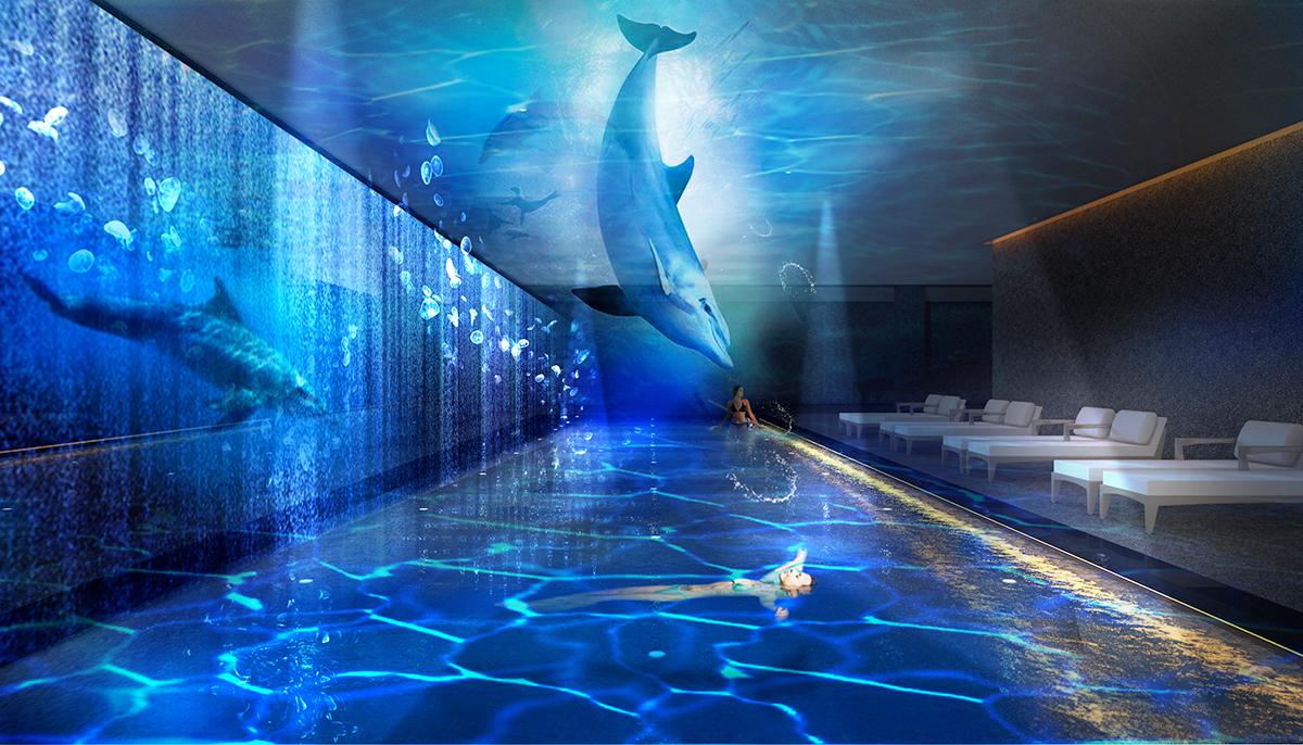 屋内プールのイメージ