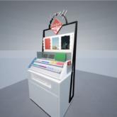 「一番コフレ」をARで試せる「バーチャルメイクシミュレーション」スポット