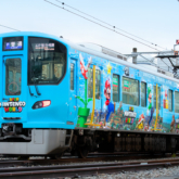 「スーパー・ニンテンドー・ワールド」ラッピング列車