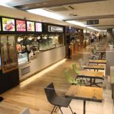 エキマルシェ新大阪ソトエのフードコート「エキマルキッチン」