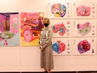 前田優衣さんの作品「ORGAN ROOMS」