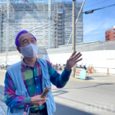 建設中の「星野リゾート OMO7 大阪新今宮」