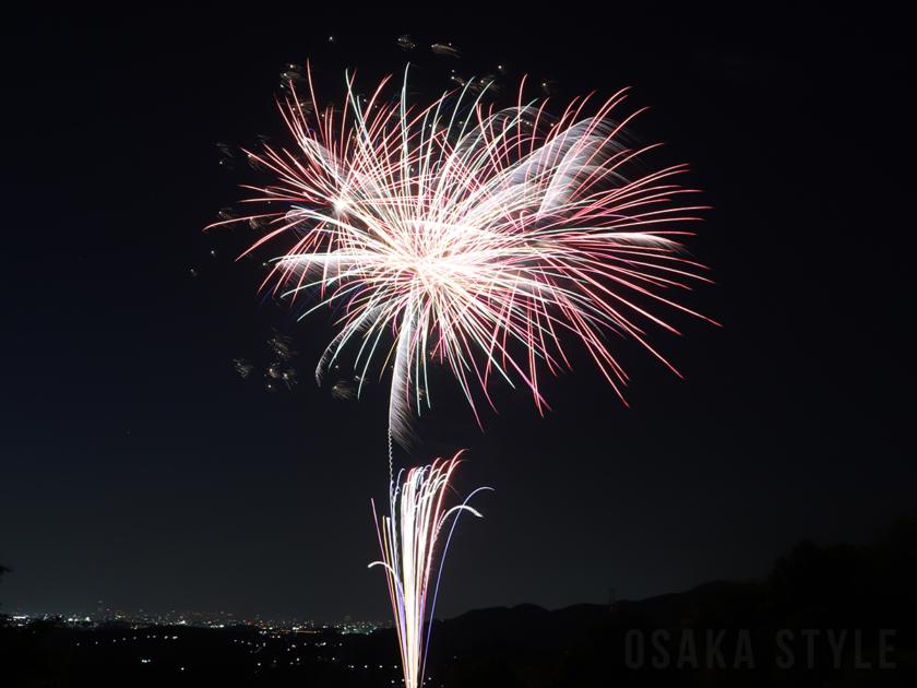 大阪で「#花火駅伝」