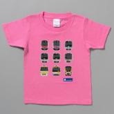 9路線車両デザインTシャツ