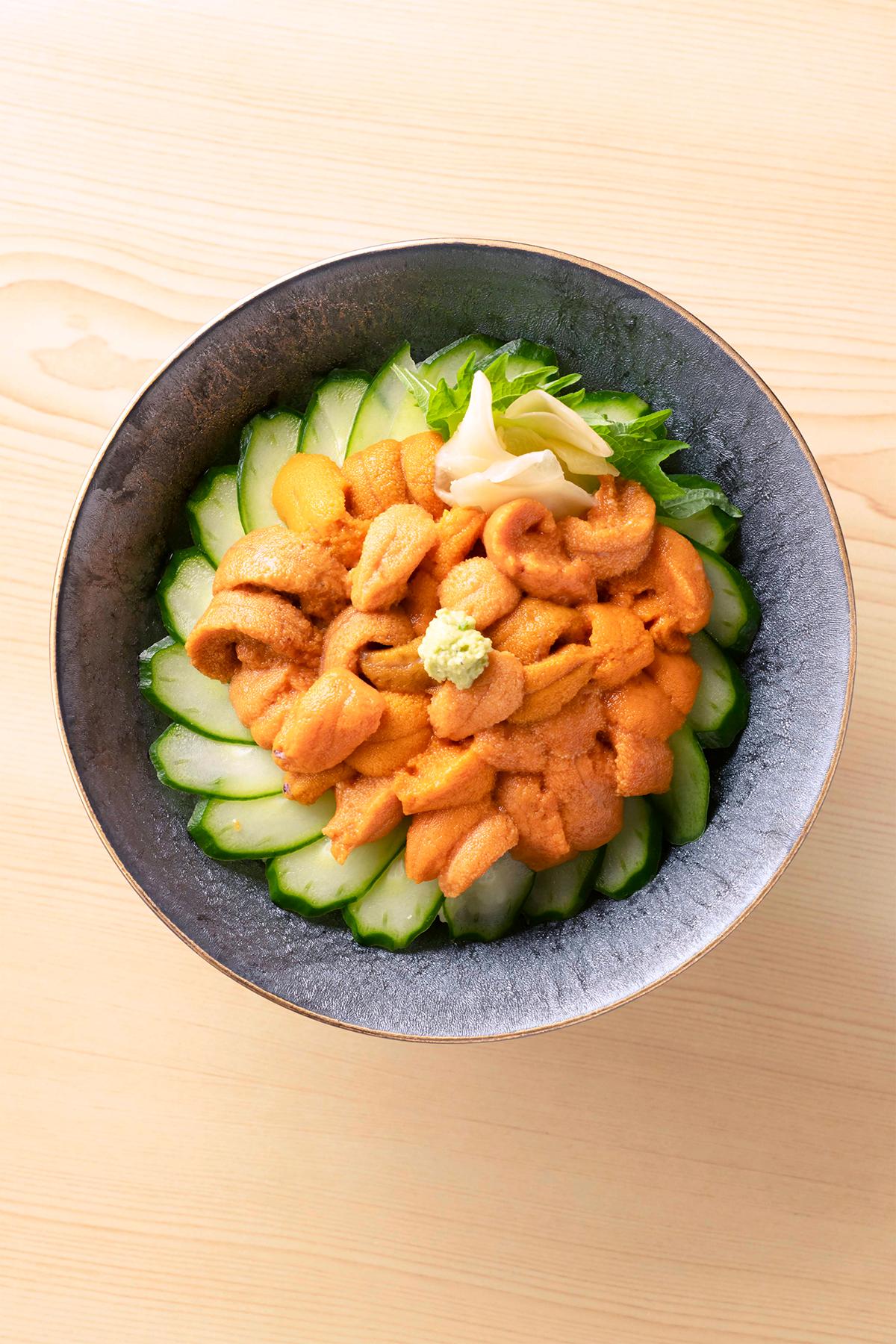 「幸寿司」春うに丼