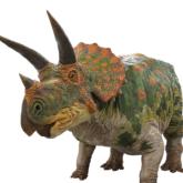 トリケラトプスのロボット