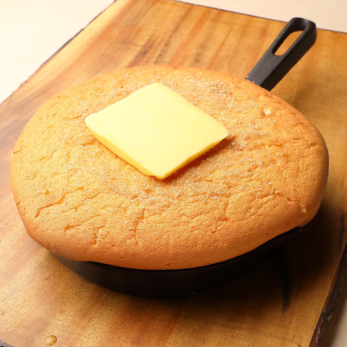 ふわふわ生カステラパンケーキ