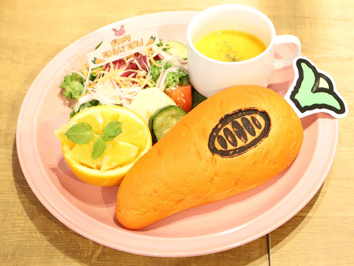 <ジュディ>故郷のお野菜たっぷり!?サンドウィッチプレート