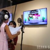 STUDIO LOVOX UMEDAで「子ども声優ワークショップ」