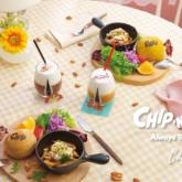 「チップ&デール」OH MY CAFE