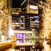 グランフロント大阪のイルミネーション