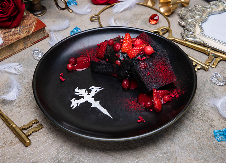 【LOS†EDEN】 漆黒のフルーツサンド